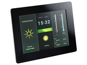 Picture of Intenso Digital Photo Frame / Wheatherstation WEATHERSTAR 8 Zoll