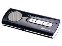 Resim LogiLink Bluetooth Freisprechanlage für Auto (BT0014) schwarz-silber