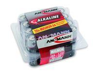 Resim Batterie Ansmann Alkaline Mignon AA (20 St. Box)