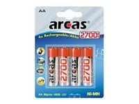 Picture of Akku Arcas AA Mignon 2700mAH (4 Stk)