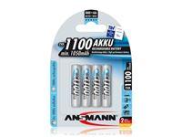 Εικόνα της Akku Ansmann AAA Micro 1100mAH maxE+ (4 Stk)