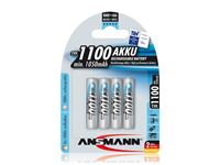 Resim Akku Ansmann AAA Micro 1100mAH maxE+ (4 Stk)