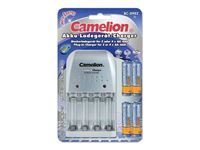 Picture of Camelion Universal Ladegerät (BC-0902) + 4x AA 2500