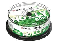 Picture of EMTEC DVD-R 4,7 GB 16x Speed - 25stk Cake Box
