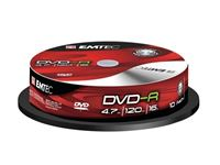 Resim EMTEC DVD-R 4,7 GB 16x Speed - 10stk Cake Box