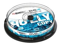 Picture of EMTEC DVD+R 4,7 GB 16x Speed - 10stk Cake Box