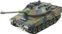 """Resim RC Panzer """"German Leopard grün"""" 1:20 mit Schuss und Sound-B11"""