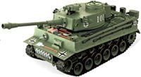 """Resim RC Panzer """"German Tiger I"""" grün 1:20 mit Schuss und Sound-B2"""