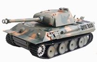 "Resim RC Panzer ""German Panther"" 1:16 Heng Long -Rauch&Sound -2,4Ghz"
