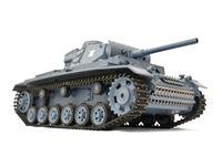 "Resim RC Panzer ""Kampfwagen III"" 1:16 Heng Long -Rauch&Sound - mit 2,4Ghz Fernsteuerung"