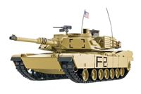 "Immagine di RC Panzer ""M1A2 Abrams"" 1:16 Heng Long -Rauch&Sound + Metallgetriebe und 2,4Ghz"