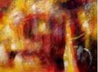 Picture of Abstract - Legacy of Fire IV i86718 80x110cm abstraktes Ölbild handgemalt