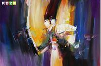 Picture of Abstract - Fallen Angel d90065 60x90cm handgemaltes Gemälde