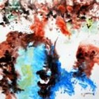 Picture of Abstract - Evidence 21 g90248 80x80cm exzellentes Ölgemälde