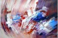 Resim Abstract - Butterflies d91237 60x90cm modernes Ölbild handgemalt