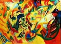 Picture of Wassily Kandinsky - Komposition VII i91392 80x110cm bemerkenswertes Ölgemälde
