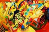 Picture of Wassily Kandinsky - Komposition VII p91515 120x180cm bemerkenswertes Ölgemälde